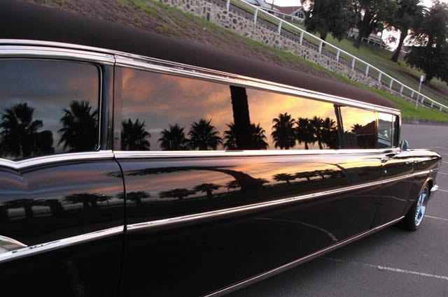 Chauffer Driven Limousine