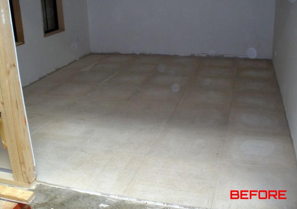 Polished Floors Before