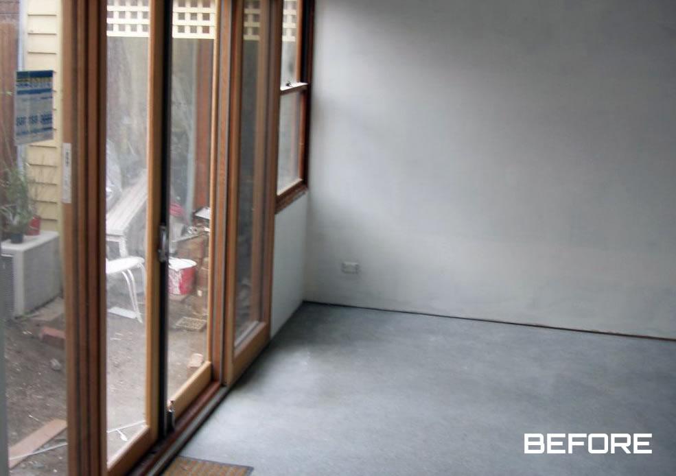 Floor Polishing before